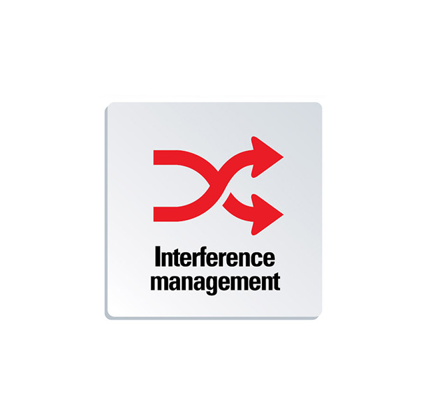 Interferences management