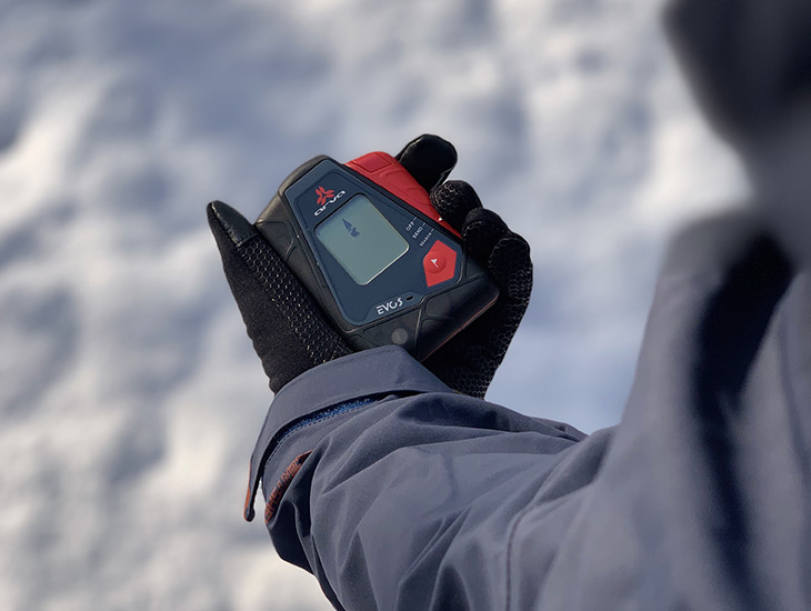 Arva Evo 5 Beacon Action